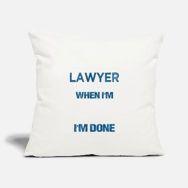 Lawyer Lawyer Gift Lawyer Law Lawyer - Pillowcase 17,3'' x 17,3'' (45 x 45 cm)