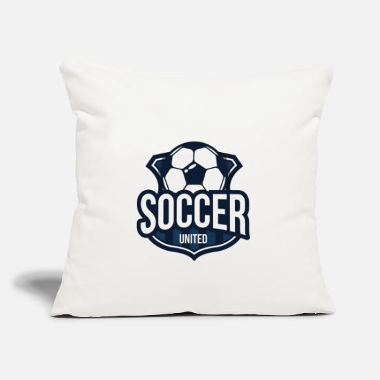 Club Pillow Cases - Football club - Pillowcase 17,3'' x 17,3'' (45 x 45 cm) natural white