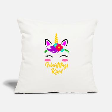 Birthday Girl Unicorn Birthday Gift - Pillowcase 17,3'' x 17,3'' (45 x 45 cm)