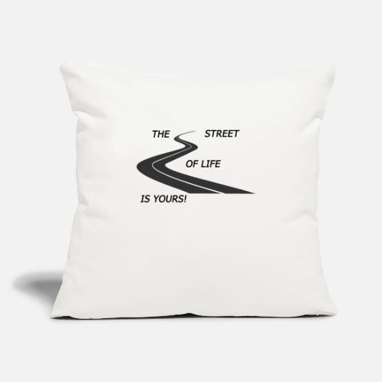 Street Dance Pillow Cases - Street - Pillowcase 17,3'' x 17,3'' (45 x 45 cm) natural white