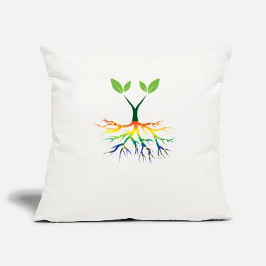 Nature Conservation Nature - Rainbow - Conservation - Roots - Pillowcase 17,3'' x 17,3'' (45 x 45 cm)