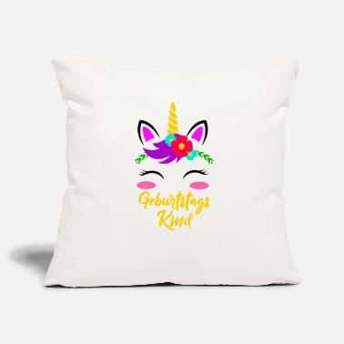 Girl Birthday Girl Unicorn Birthday Gift - Pillowcase 17,3'' x 17,3'' (45 x 45 cm)