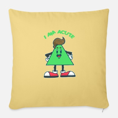 Acute I am acute - Pillowcase 17,3'' x 17,3'' (45 x 45 cm)