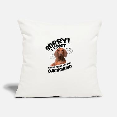 Dachshund Dachshund dog pet cool gift - Pillowcase 17,3'' x 17,3'' (45 x 45 cm)