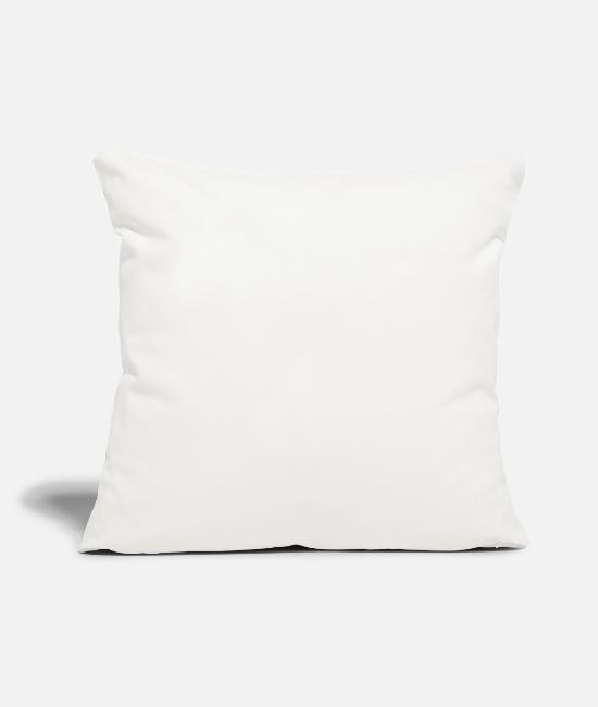 Drunkard Pillow Cases - Tequila You'll Feel When I'm Inside - Pillowcase 17,3'' x 17,3'' (45 x 45 cm) natural white