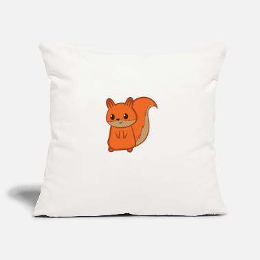 Squirrel Squirrel - squirrel fan - squirrel - Pillowcase 17,3'' x 17,3'' (45 x 45 cm)