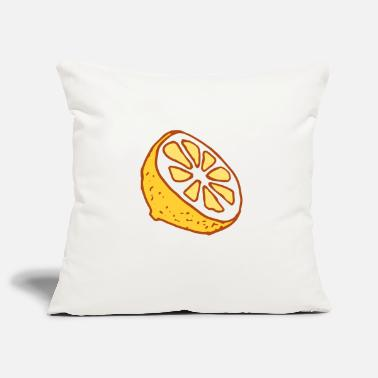 Lemons Fruits Lemon Fruit Fruit Lemon Fruit - Pillowcase 17,3'' x 17,3'' (45 x 45 cm)