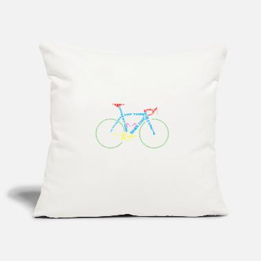 Glass Underwear Bicycle anatomy for bike and cycling lovers - Pillowcase 17,3'' x 17,3'' (45 x 45 cm)