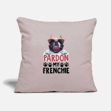 Pardon Pardon my frenchie - Pillowcase 17,3'' x 17,3'' (45 x 45 cm)