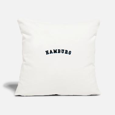 Hamburg Hamburg Hamburger - Pillowcase 17,3'' x 17,3'' (45 x 45 cm)