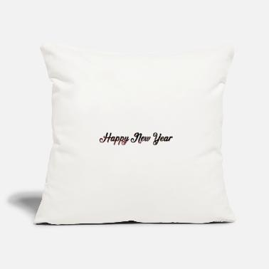Fireworks New Year Happy New Year - Pillowcase 17,3'' x 17,3'' (45 x 45 cm)