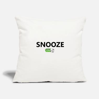 Snooze Snooze On - Pillowcase 17,3'' x 17,3'' (45 x 45 cm)
