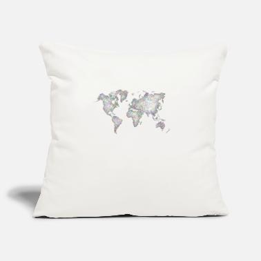 World Series world - Pillowcase 17,3'' x 17,3'' (45 x 45 cm)