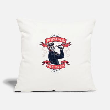 Motorcycle motorcycle, bike, motorcycle, motorcycle ride - Pillowcase 17,3'' x 17,3'' (45 x 45 cm)
