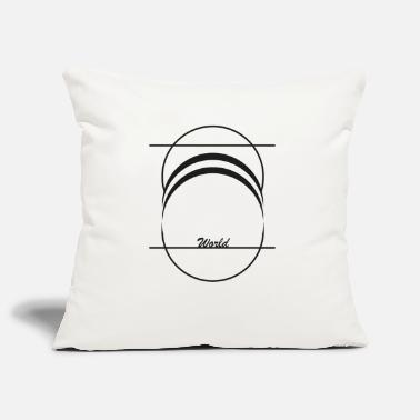 World World world - Pillowcase 17,3'' x 17,3'' (45 x 45 cm)