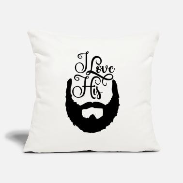 Barbe Sa barbe barbe barbe - Housse de coussin