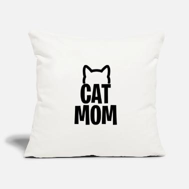 Cat Mom - Cats mother - Pillowcase 17,3'' x 17,3'' (45 x 45 cm)