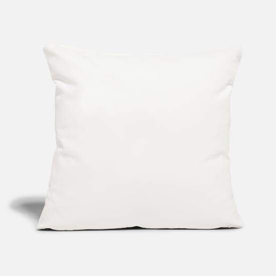 Established Pillow Cases - Mama established in 1989 - Pillowcase 17,3'' x 17,3'' (45 x 45 cm) natural white