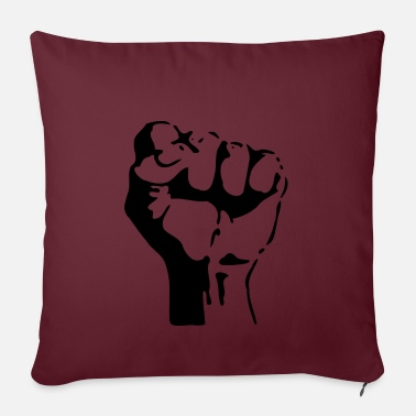 Stencil Fist stencil - Pillowcase 17,3'' x 17,3'' (45 x 45 cm)