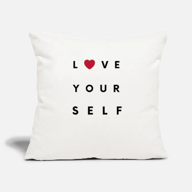Love Yourself - Pillowcase 17,3'' x 17,3'' (45 x 45 cm)