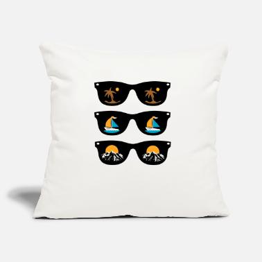 Sunglasses sunglasses - Pillowcase 17,3'' x 17,3'' (45 x 45 cm)