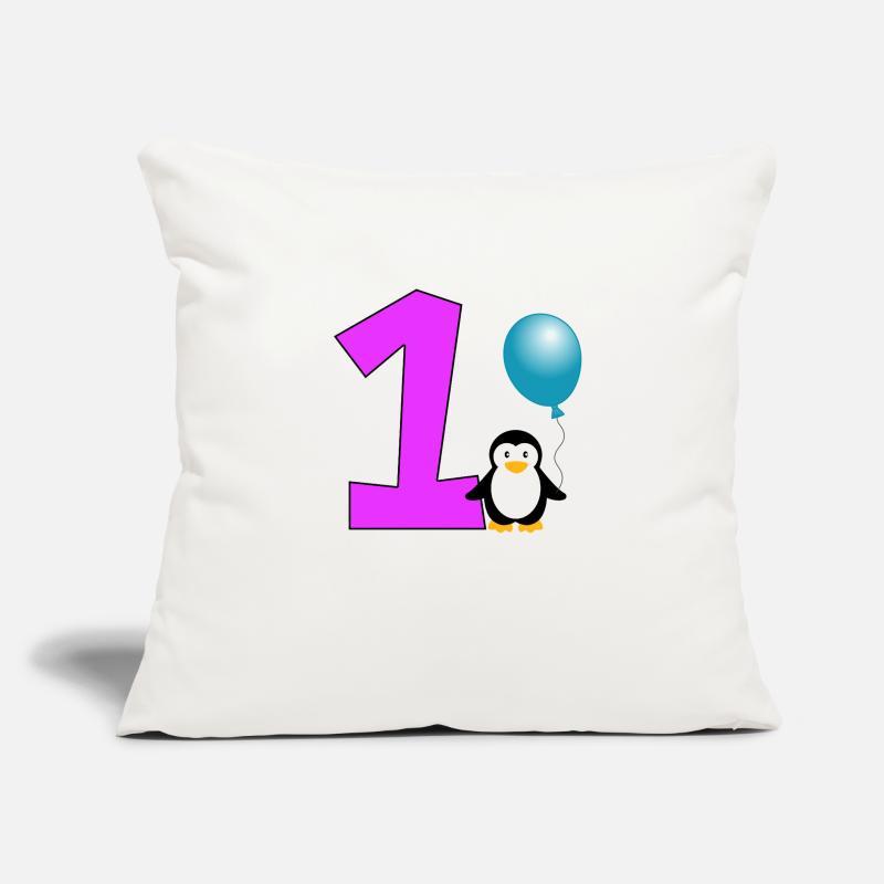 Joyeux Anniversaire Cadeau Pingouin Anniversaire 1 An Housse De
