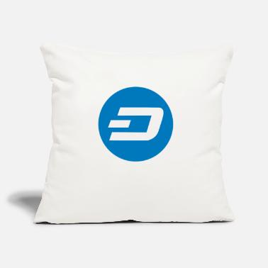 Dash Crypto Dash. - Pillowcase 17,3'' x 17,3'' (45 x 45 cm)