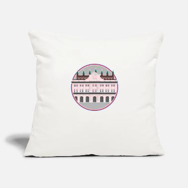 Town Hall Rostock Town Hall Poster - Pillowcase 17,3'' x 17,3'' (45 x 45 cm)