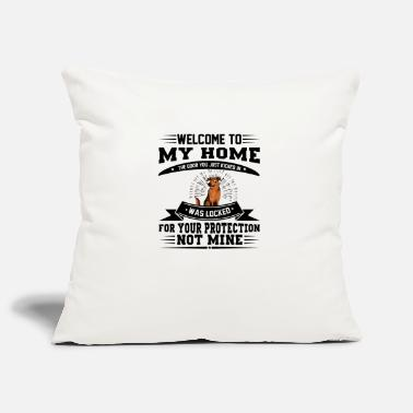 Watchdog Watchdog guards home - Pillowcase 17,3'' x 17,3'' (45 x 45 cm)