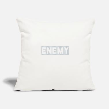 Enemy Enemy - Pillowcase 17,3'' x 17,3'' (45 x 45 cm)