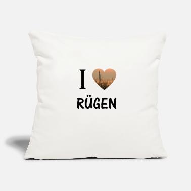 Rügen I love Rügen - Pillowcase 17,3'' x 17,3'' (45 x 45 cm)