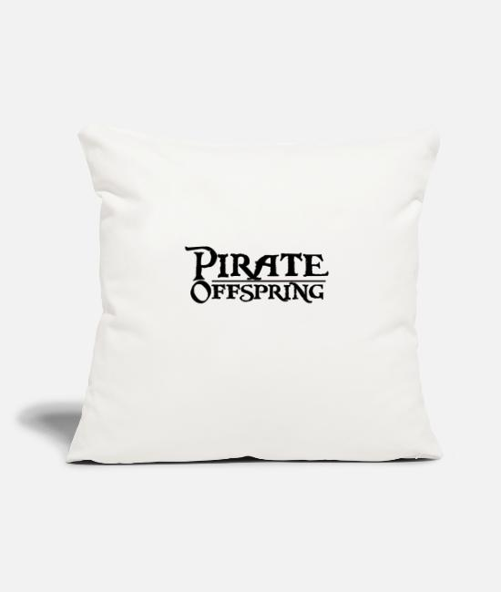 Offspring Pillow Cases - Pirates offspring - Pillowcase 17,3'' x 17,3'' (45 x 45 cm) natural white