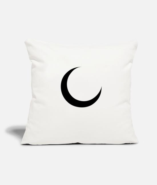 Heaven Pillow Cases - crescent - Pillowcase 17,3'' x 17,3'' (45 x 45 cm) natural white