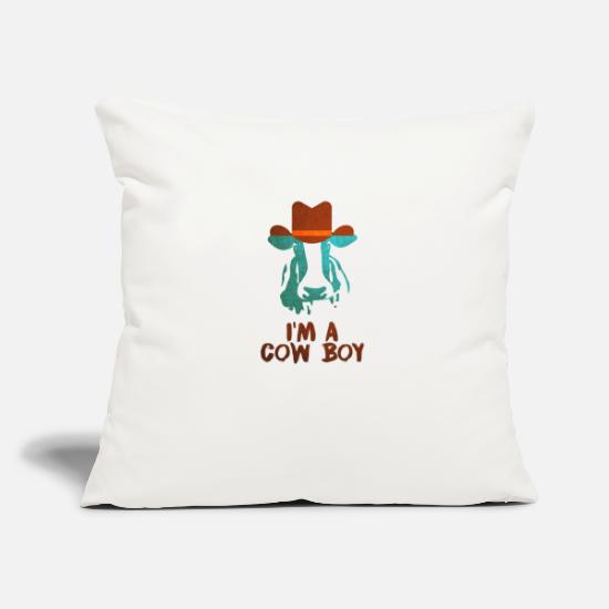Mohawk Pillow Cases - cowboy - Pillowcase 17,3'' x 17,3'' (45 x 45 cm) natural white