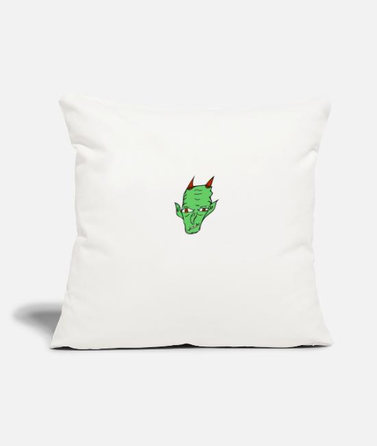 Undead Pillow Cases - monster - Pillowcase 17,3'' x 17,3'' (45 x 45 cm) natural white