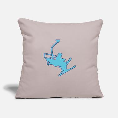 Winter Sports winter sports - Pillowcase 17,3'' x 17,3'' (45 x 45 cm)