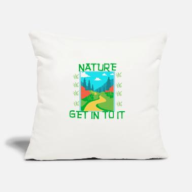 Natural NATURE - Get in to it - Pillowcase 17,3'' x 17,3'' (45 x 45 cm)