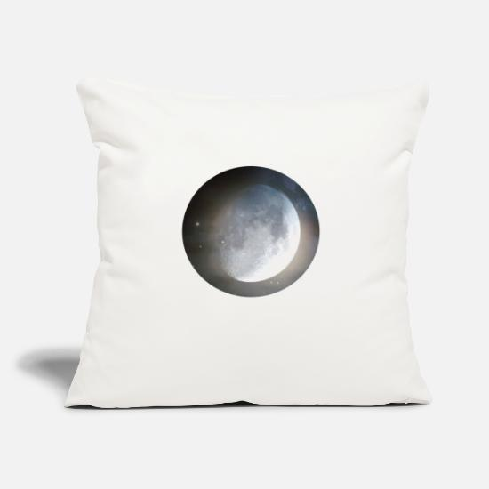 Moon Pillow Cases - moon - Pillowcase 17,3'' x 17,3'' (45 x 45 cm) natural white