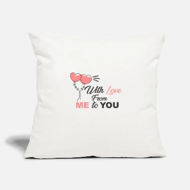 With love from me to you - Pillowcase 17,3'' x 17,3'' (45 x 45 cm)