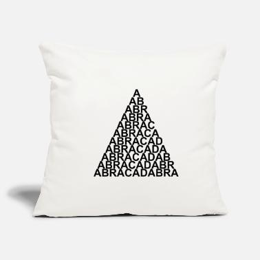 Abracadabra Abracadabra triangle - Pillowcase 17,3'' x 17,3'' (45 x 45 cm)