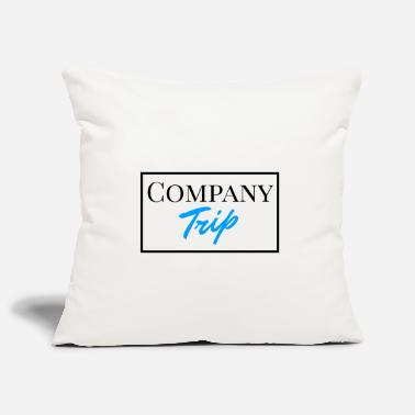 Company Company Trip - Company outing in English - Pillowcase 17,3'' x 17,3'' (45 x 45 cm)