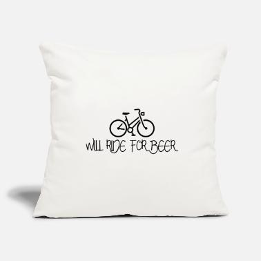 Sport Cycliste Will Ride for Beer Bicycle Bike Gift - Housse de coussin