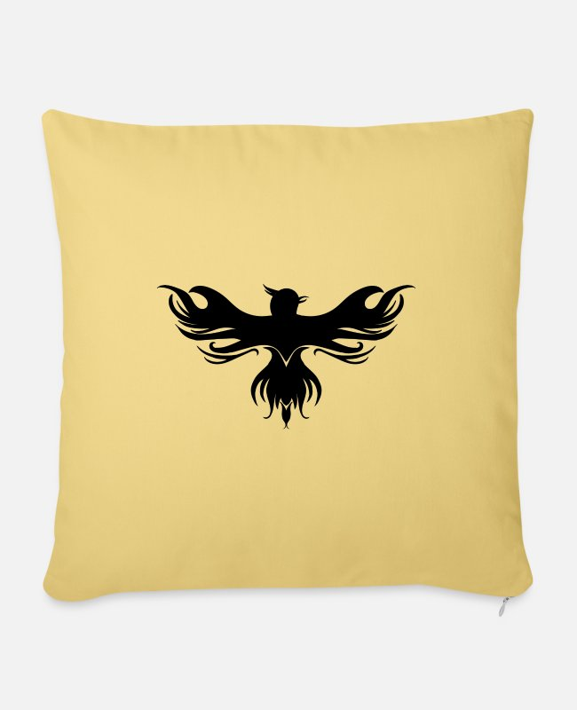 Jellyfish Pillow Cases - mythical creatures - Pillowcase 17,3'' x 17,3'' (45 x 45 cm) washed yellow
