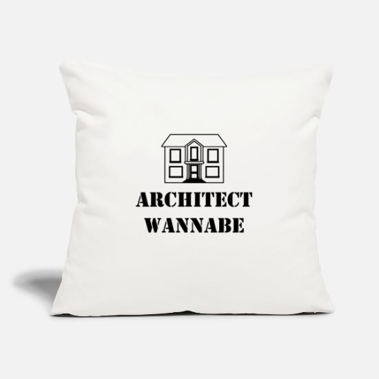 Harbour Pillow Cases - Architect wannabe - Pillowcase 17,3'' x 17,3'' (45 x 45 cm) natural white