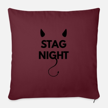 Hen Bachelor party on stag night - Pillowcase 17,3'' x 17,3'' (45 x 45 cm)