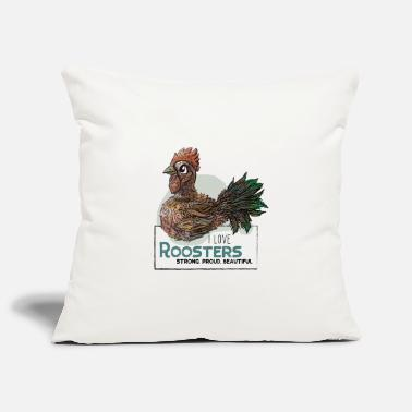 I Love Roosters - Kissenhülle