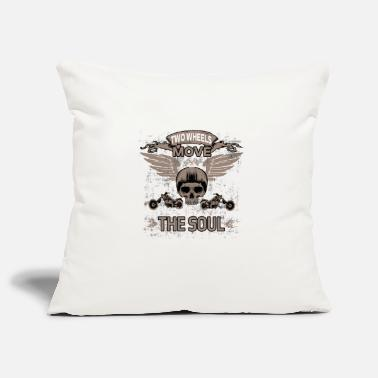 Two-wheeled TWO WHEELS MOVE THE SOUL! - Pillowcase 17,3'' x 17,3'' (45 x 45 cm)