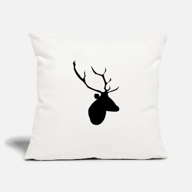 Monotonous Stag Head - Pillowcase 17,3'' x 17,3'' (45 x 45 cm)