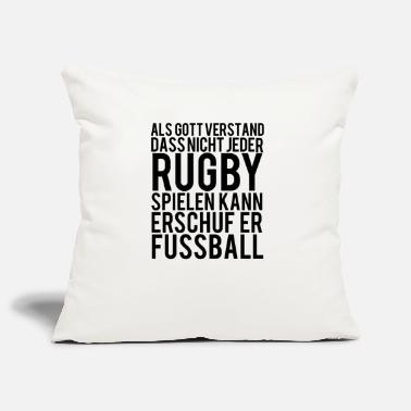 Rugby rugby - Sierkussenhoes, 44 x 44 cm