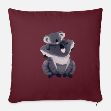 Illustration Koala illustration - Pillowcase 17,3'' x 17,3'' (45 x 45 cm)